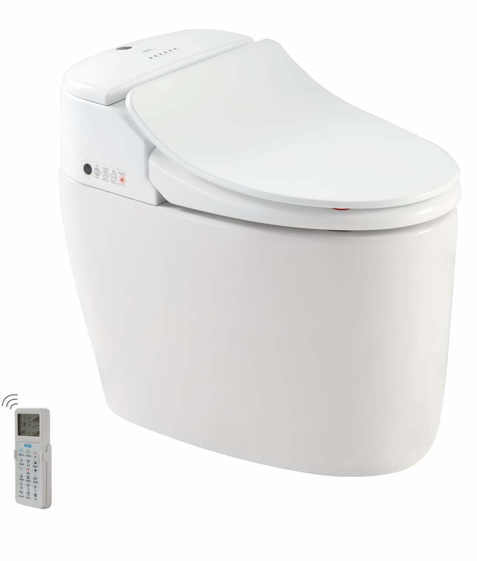 European Style Smart Toilet with Automatic Control System