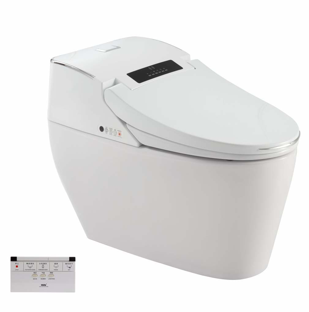 Automatic Bathroom Smart Toilet for Home Healthcare