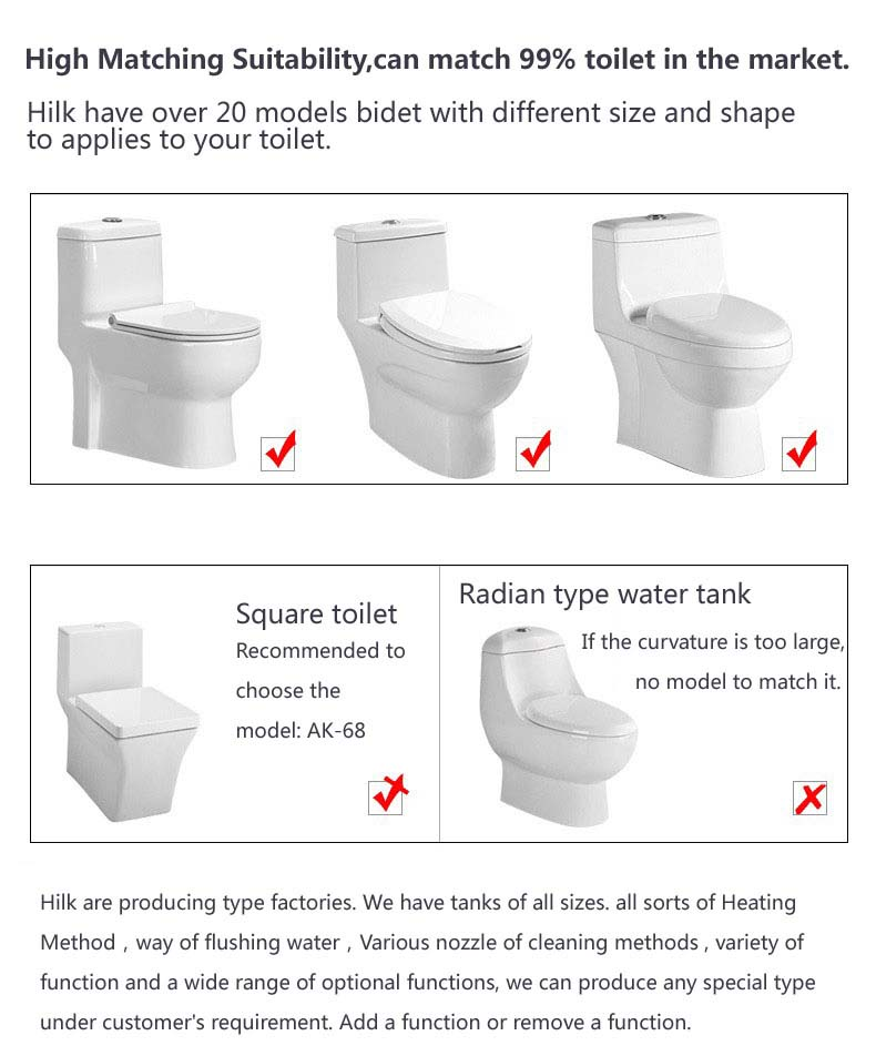 Intelligent Smart Toilet Seat bidet cover